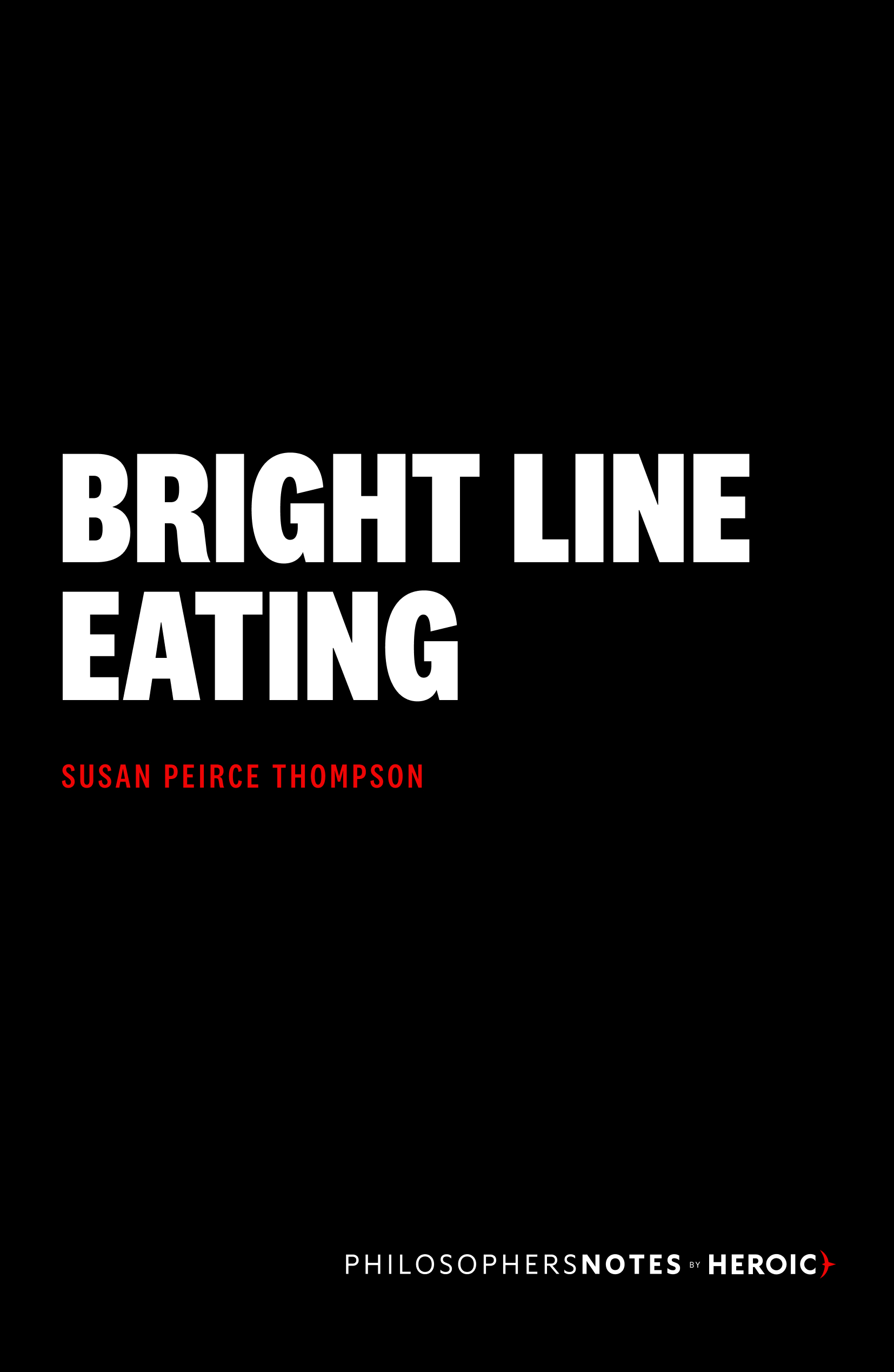 Bright Line Eating Cover