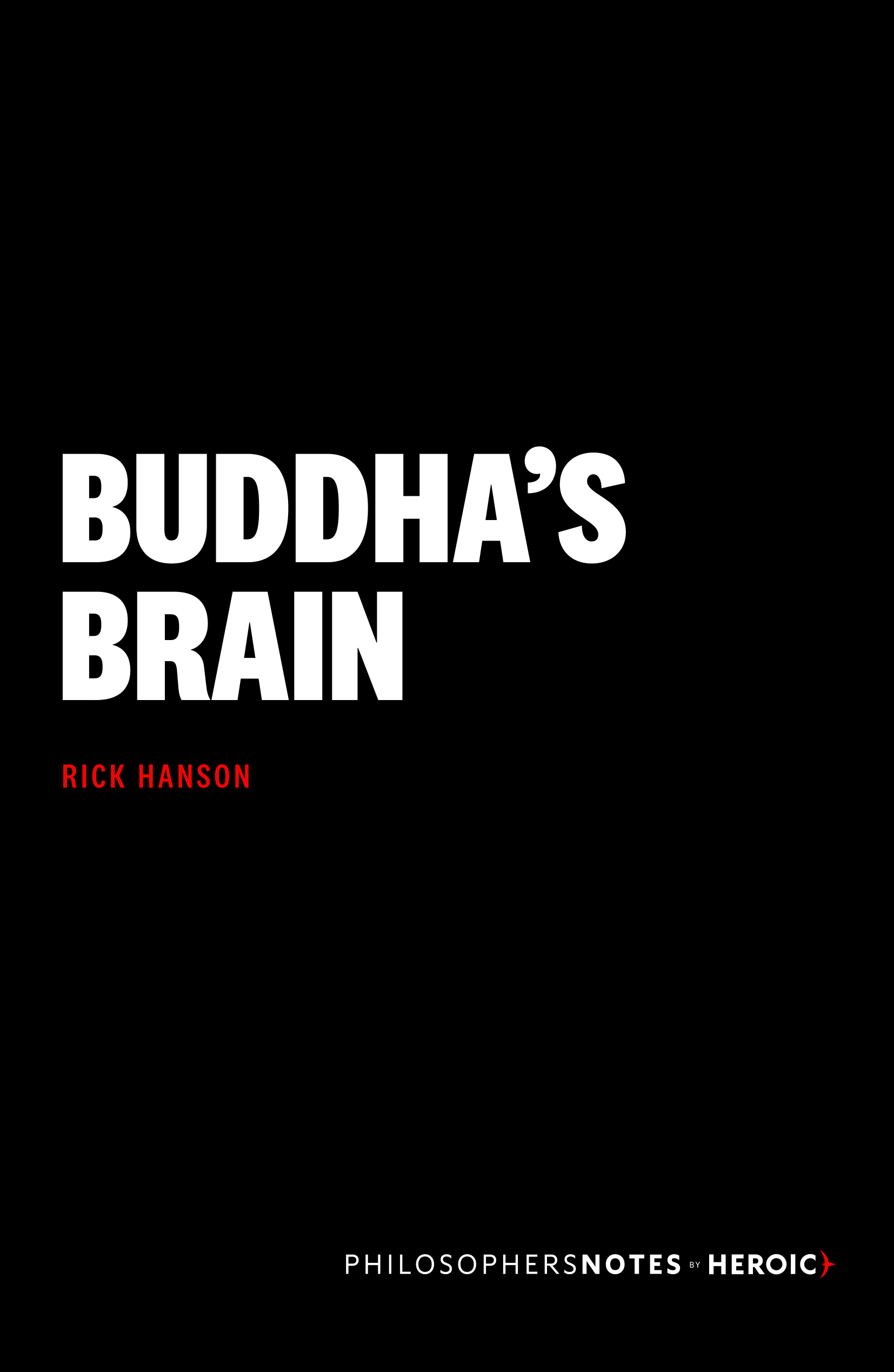 Buddha's Brain Book Cover