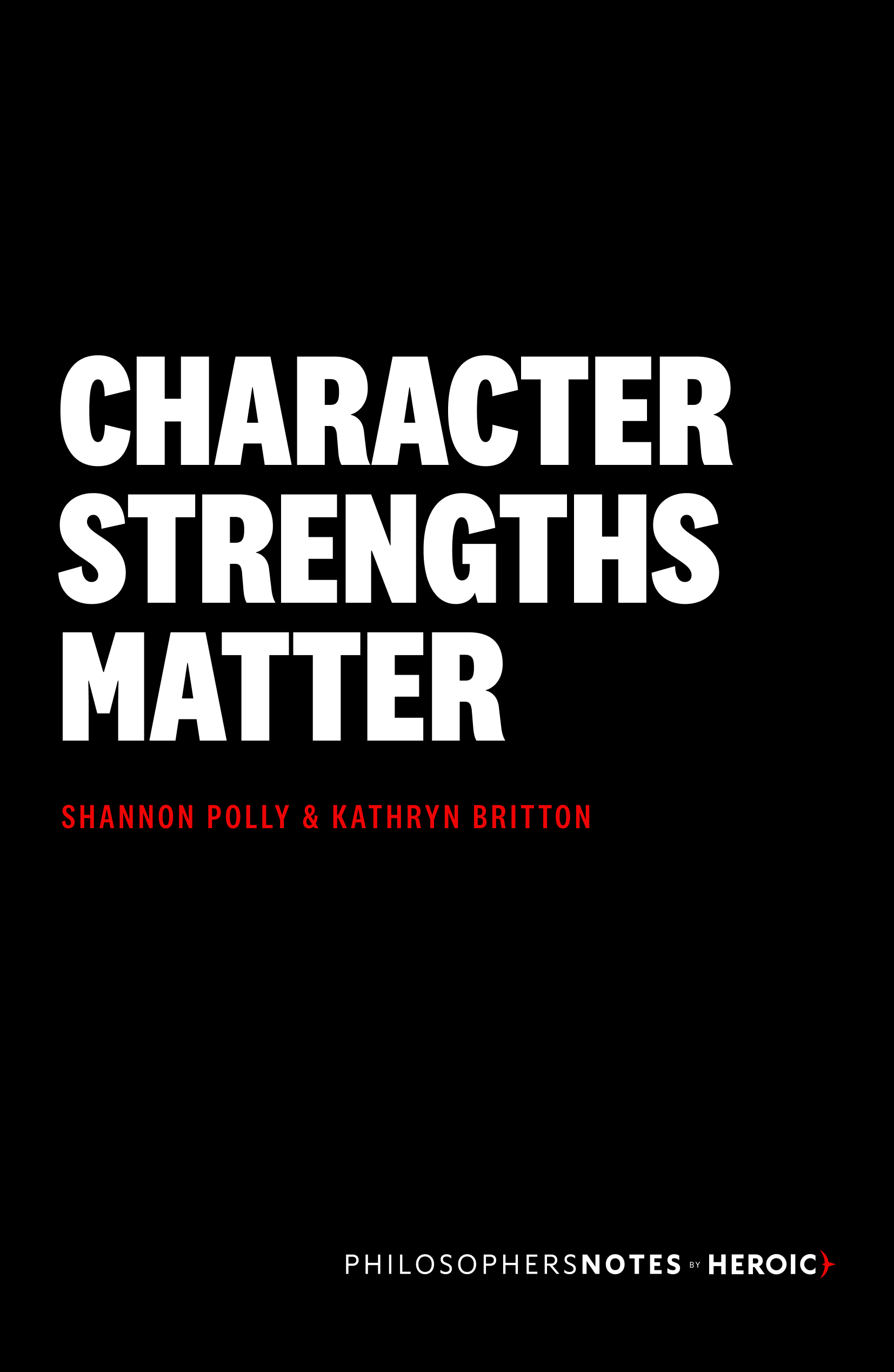 Character Strengths Matter Book Cover