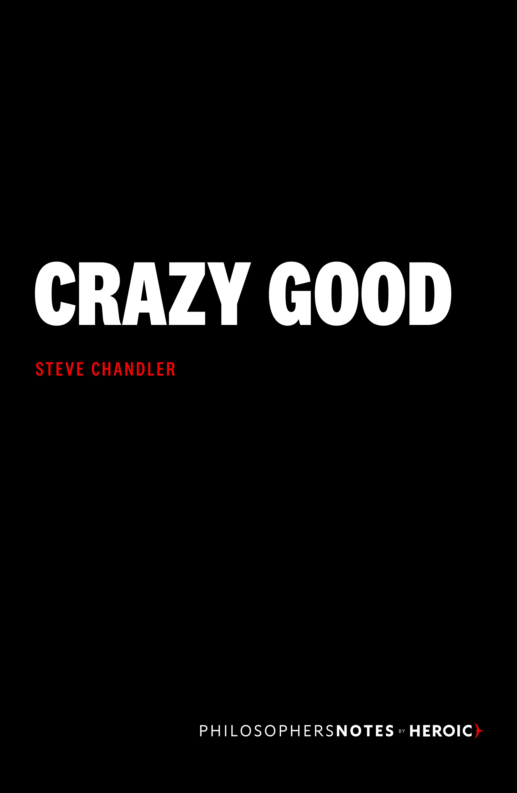 Crazy Good Book Cover