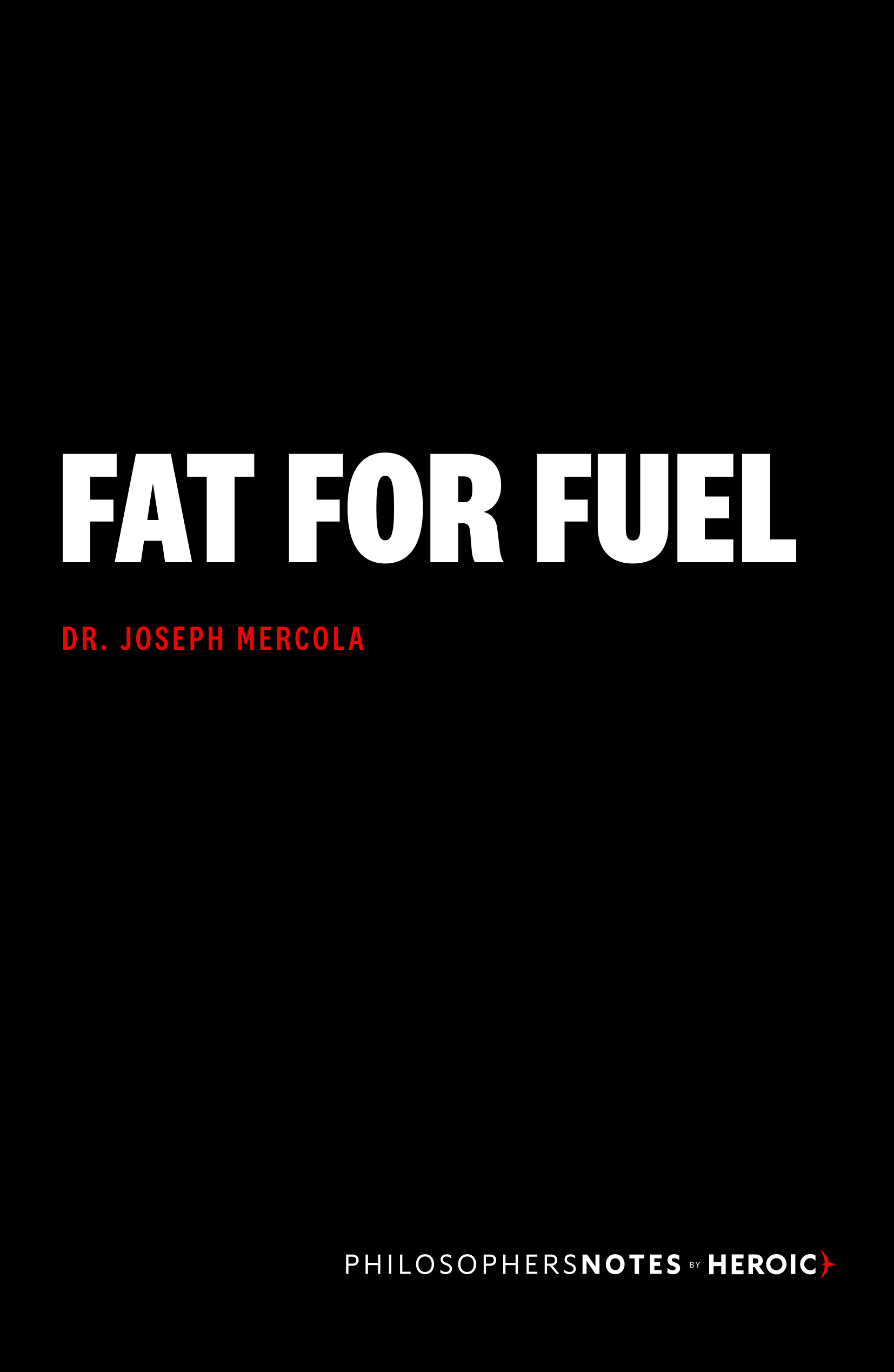 Fat for Fuel Book Cover
