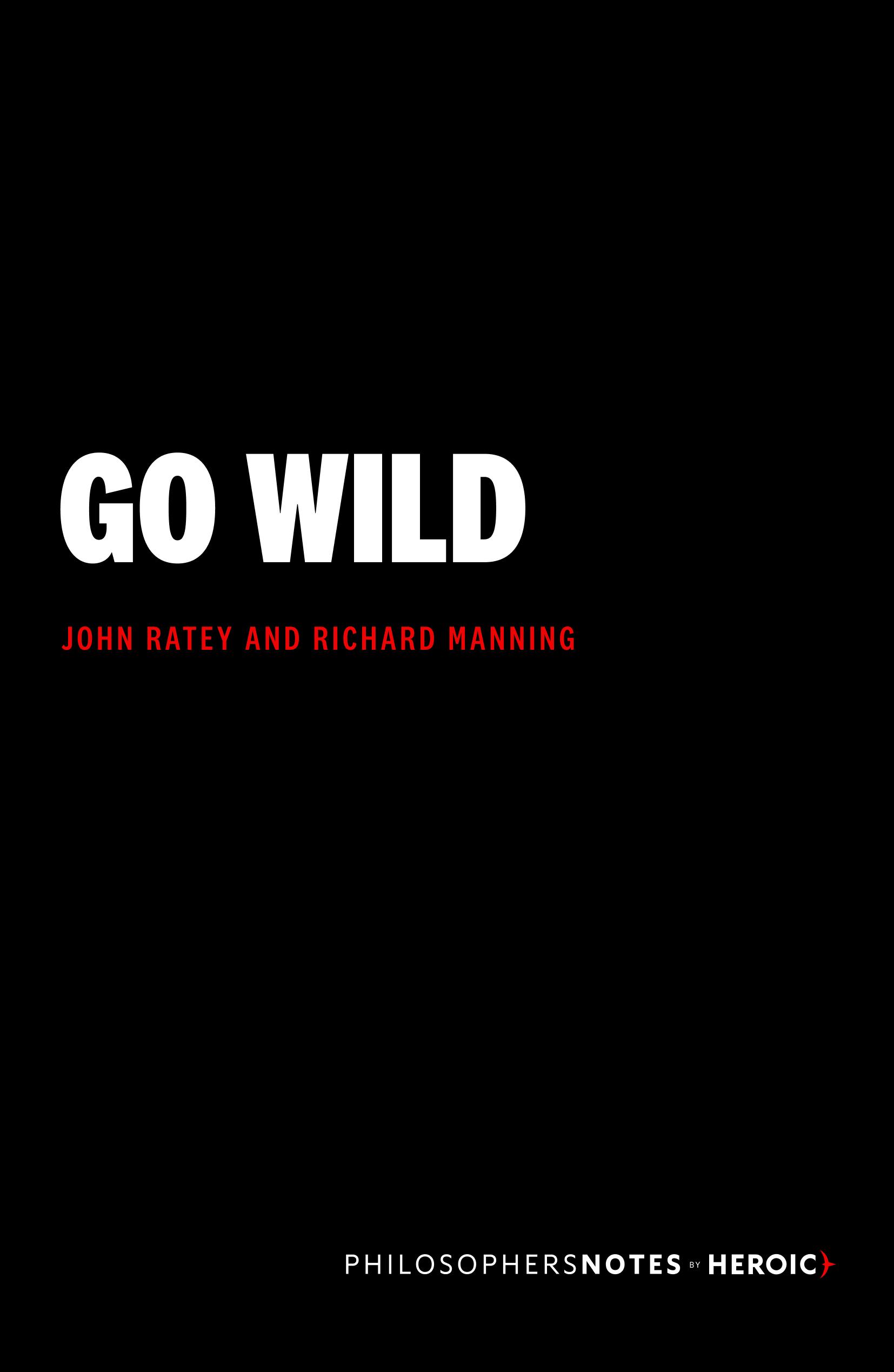 Go Wild Book Cover