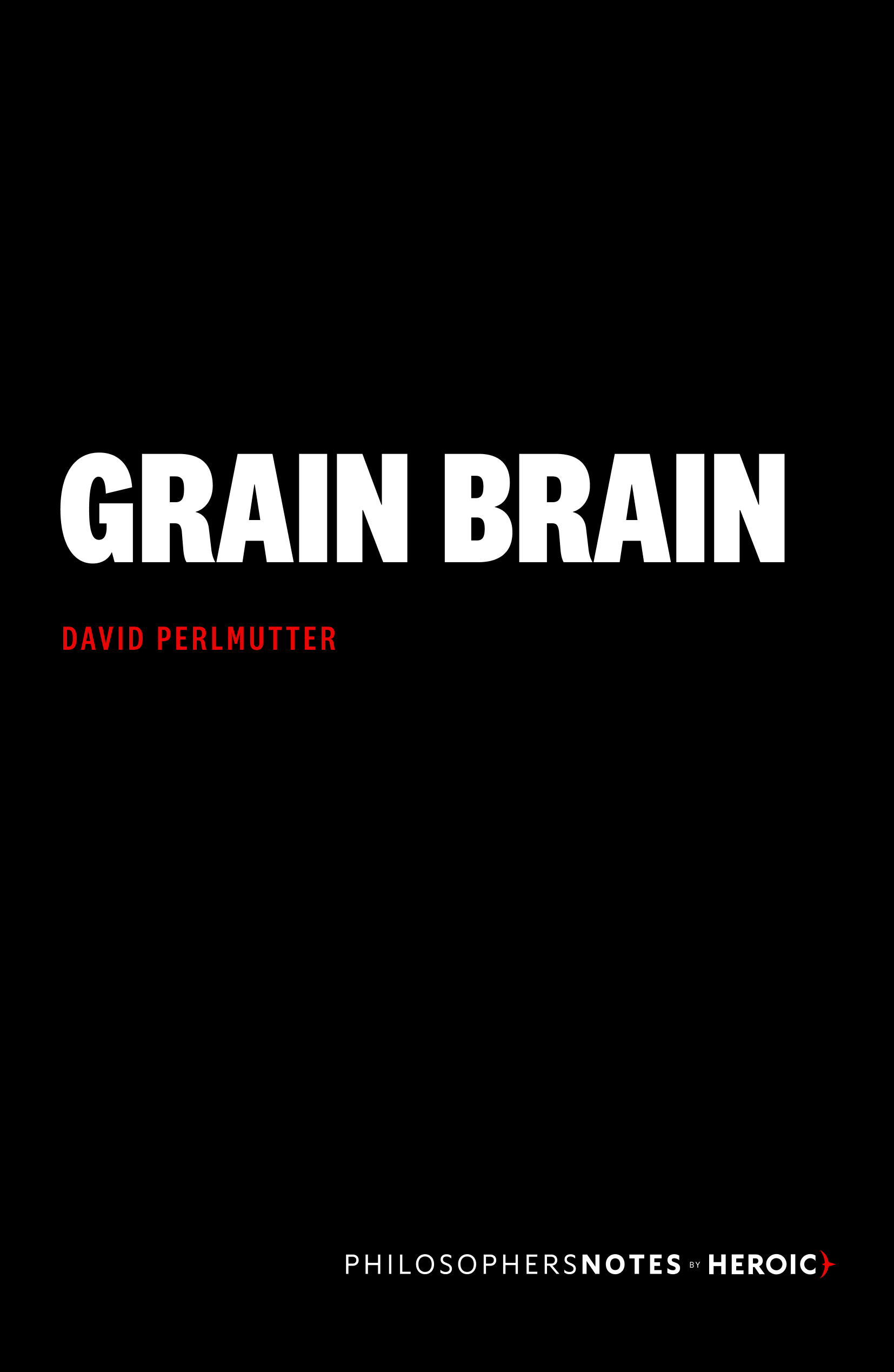 Grain Brain Book Cover