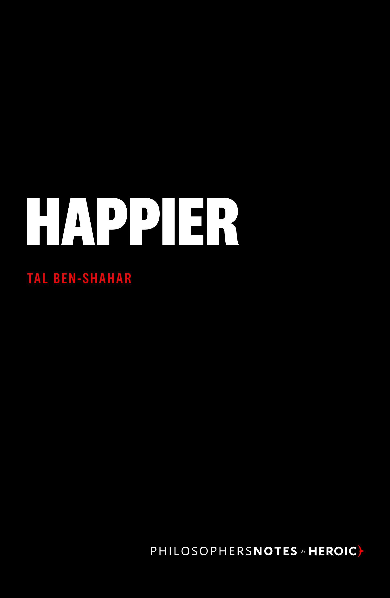 Happier Book Cover