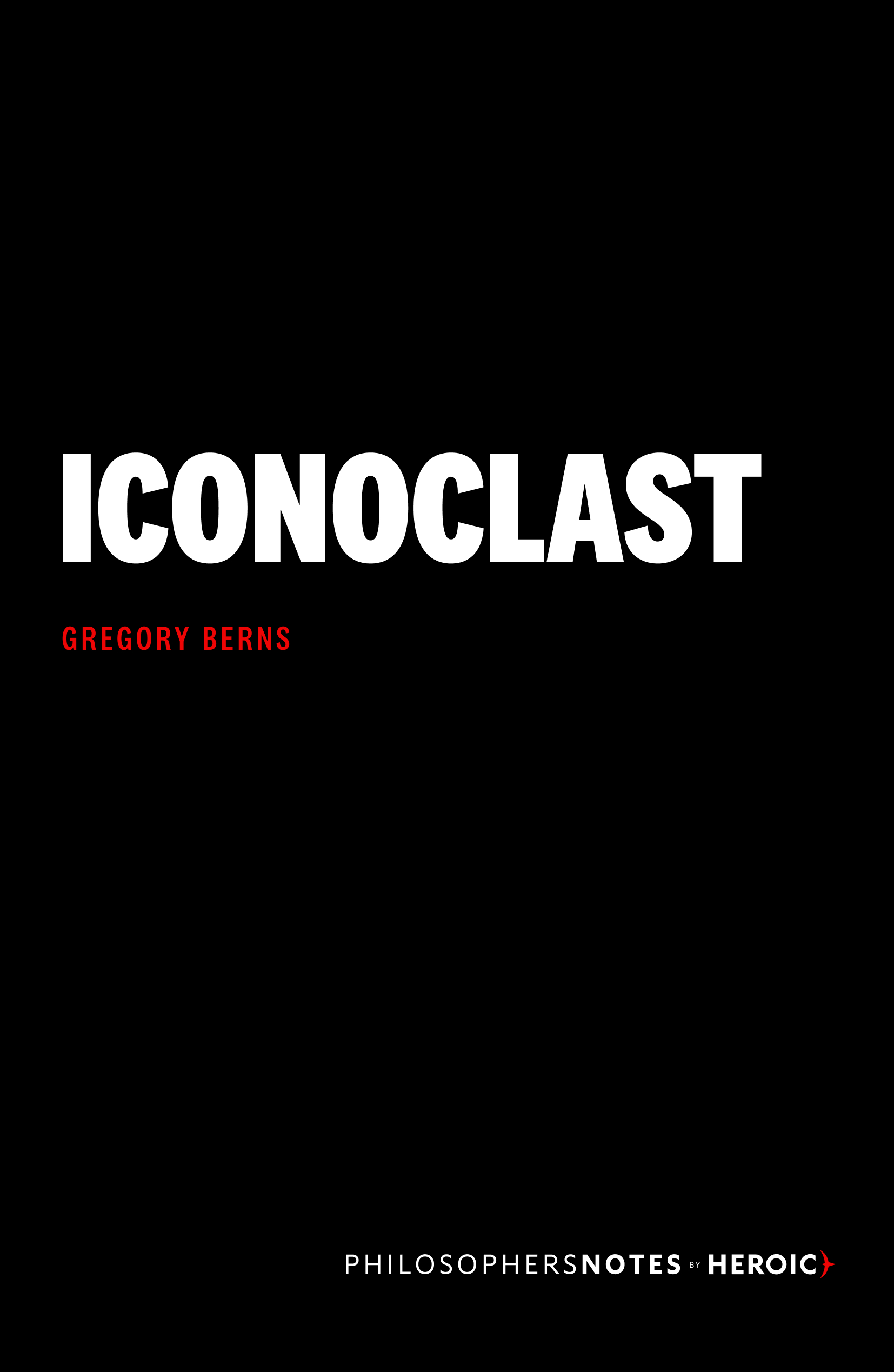 Iconoclast Book Cover