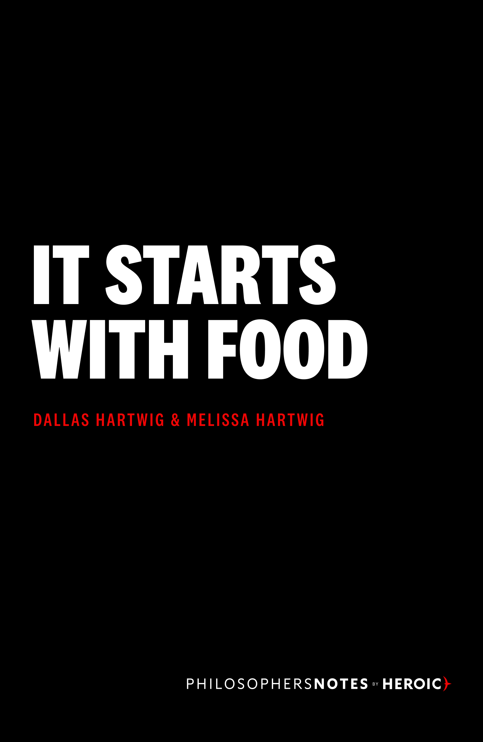 It Starts With Food Book Cover