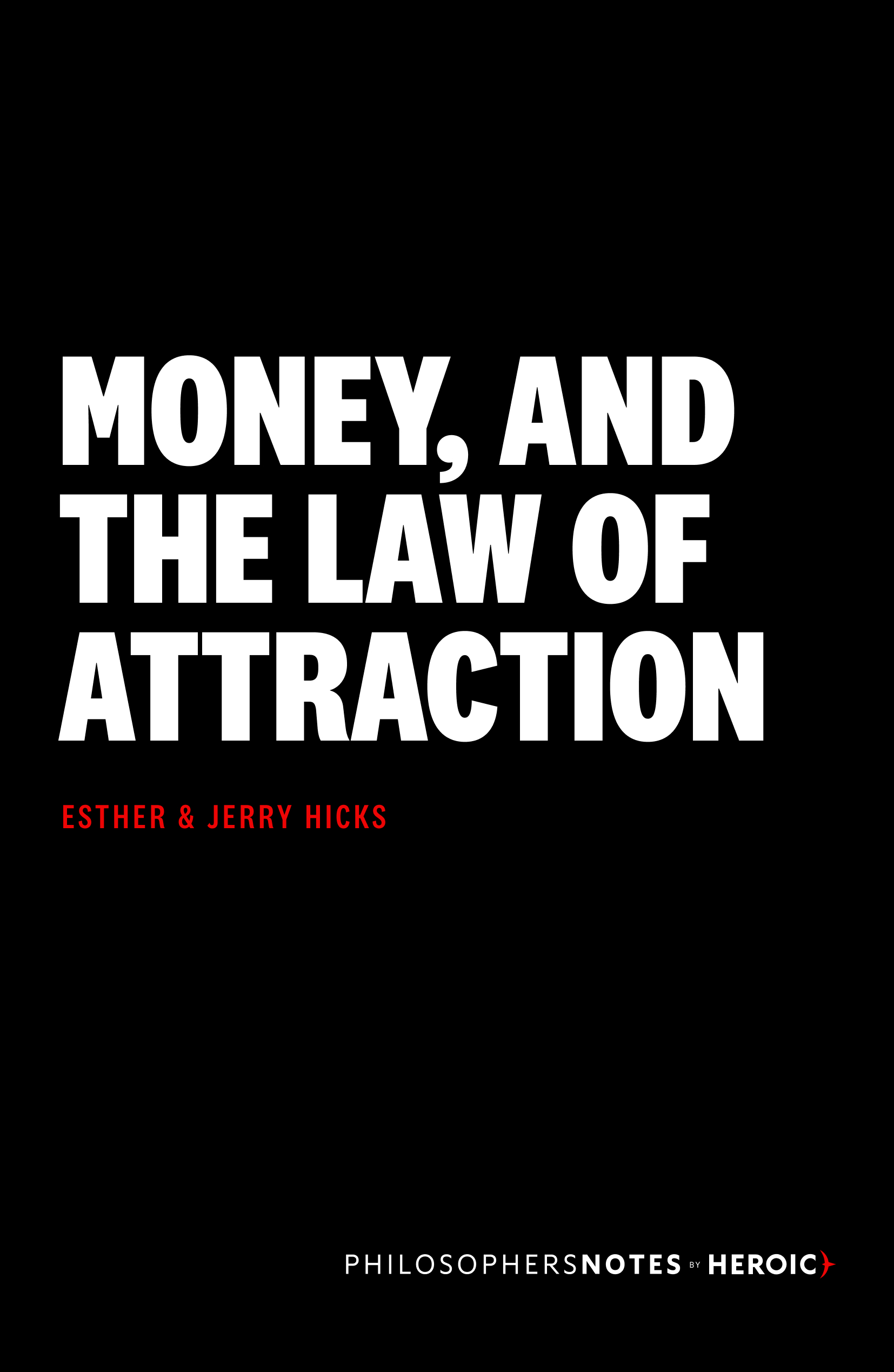 Money, and the Law of Attraction Cover