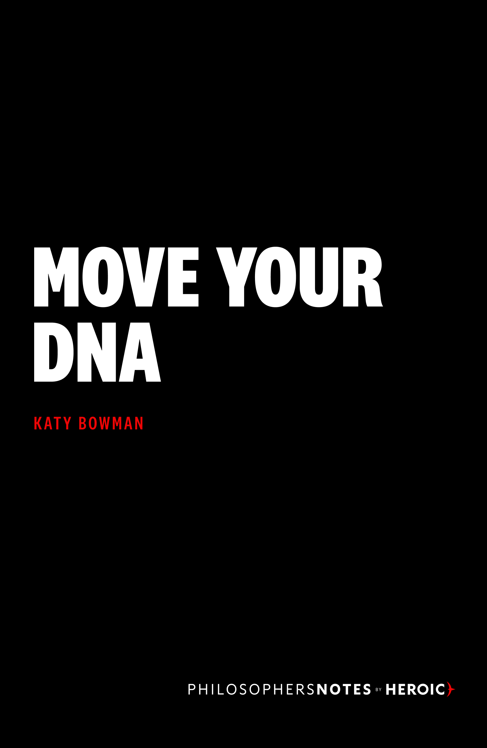 Move Your DNA Book Cover