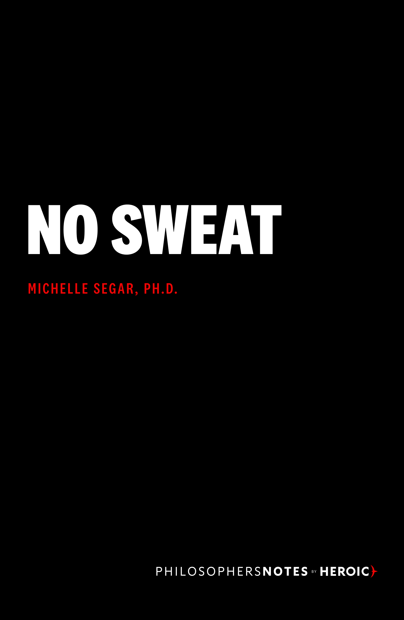No Sweat Book Cover