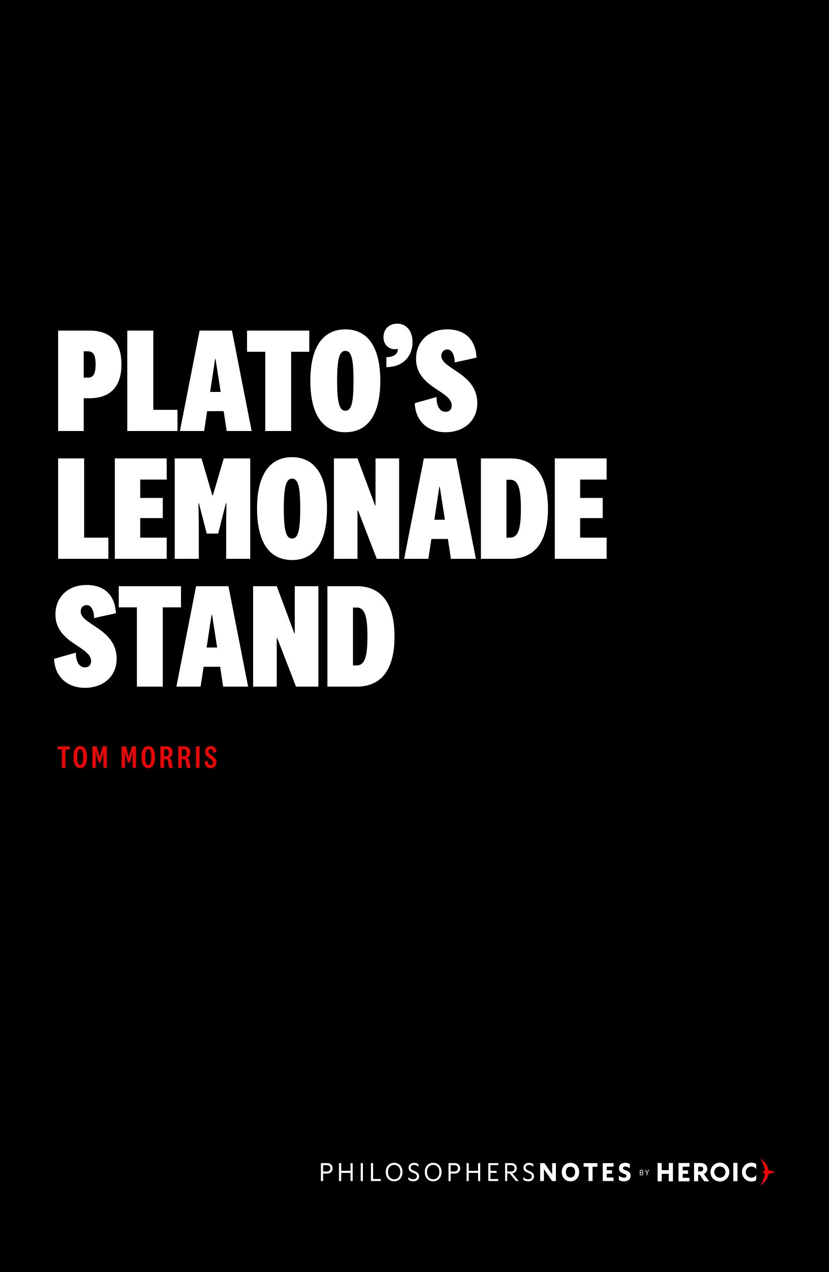 Plato's Lemonade Stand