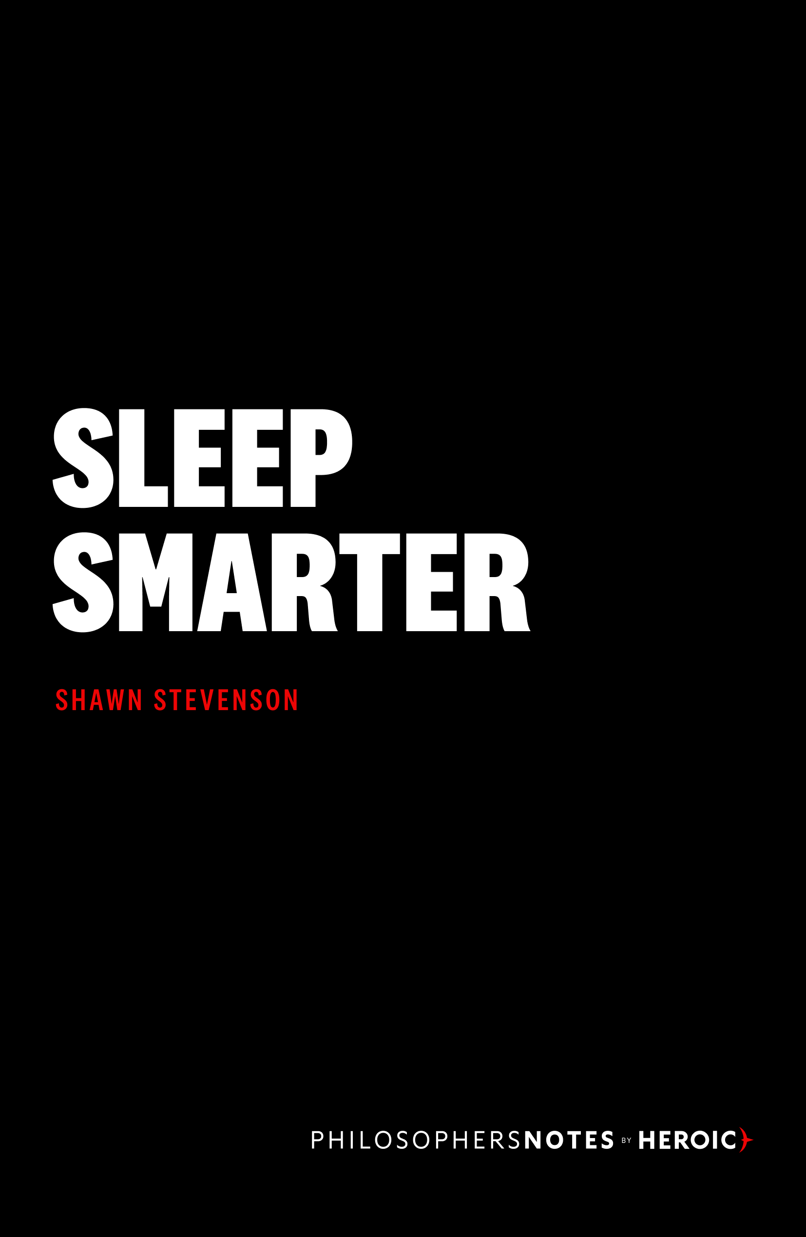 Sleep Smarter Book Cover