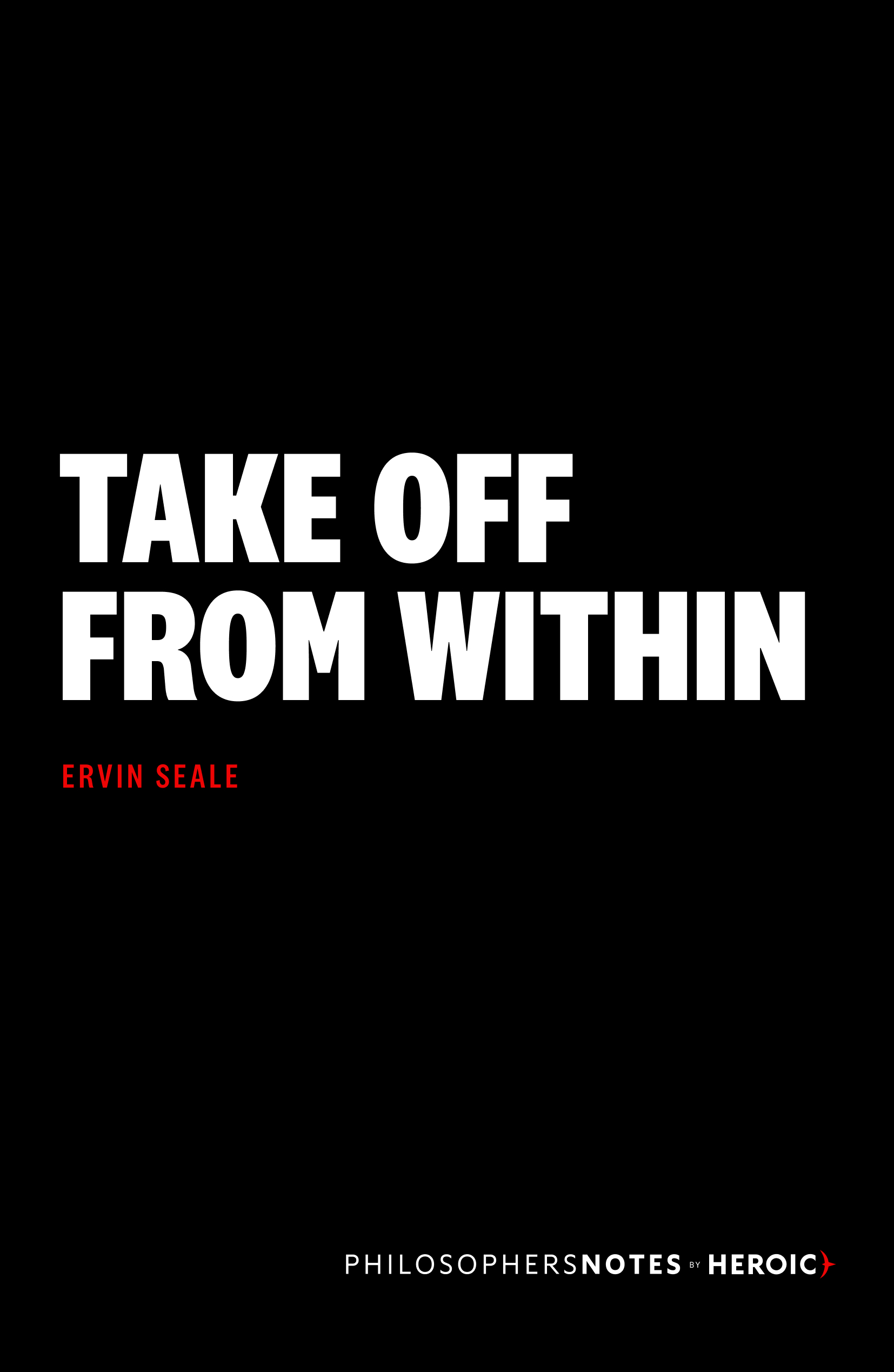 Take Off from Within Book Cover