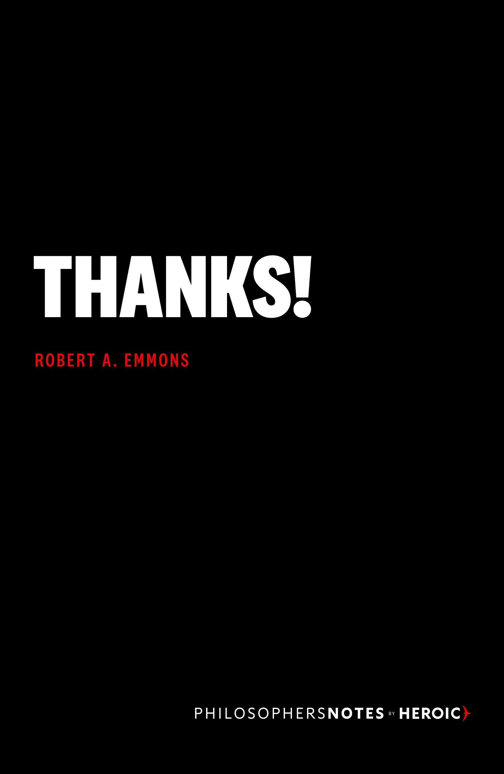 Thanks! Book Cover