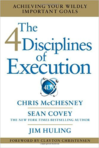 The 4 Disciplines of Execution Book Cover
