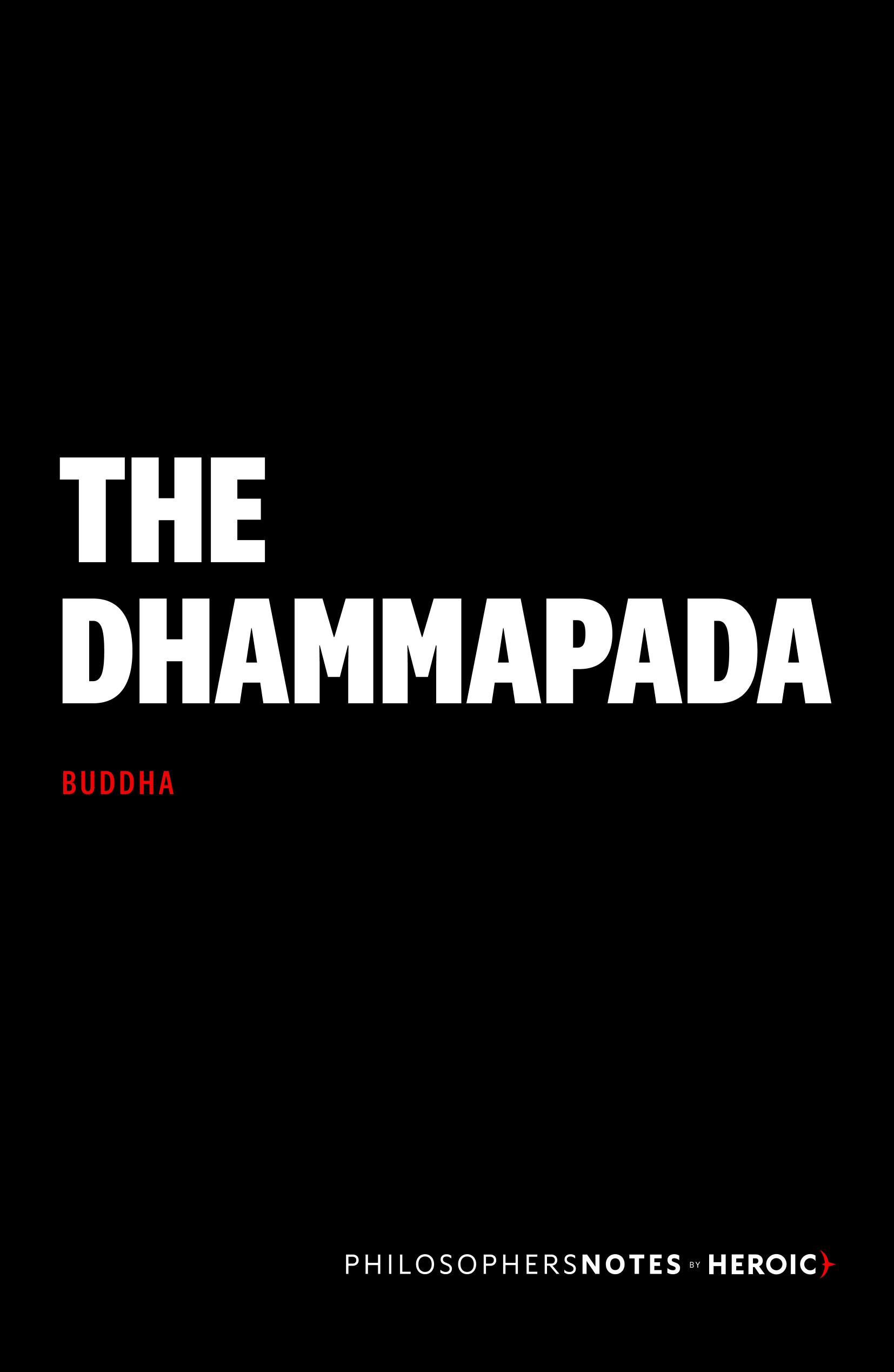 The Dhammapada Cover
