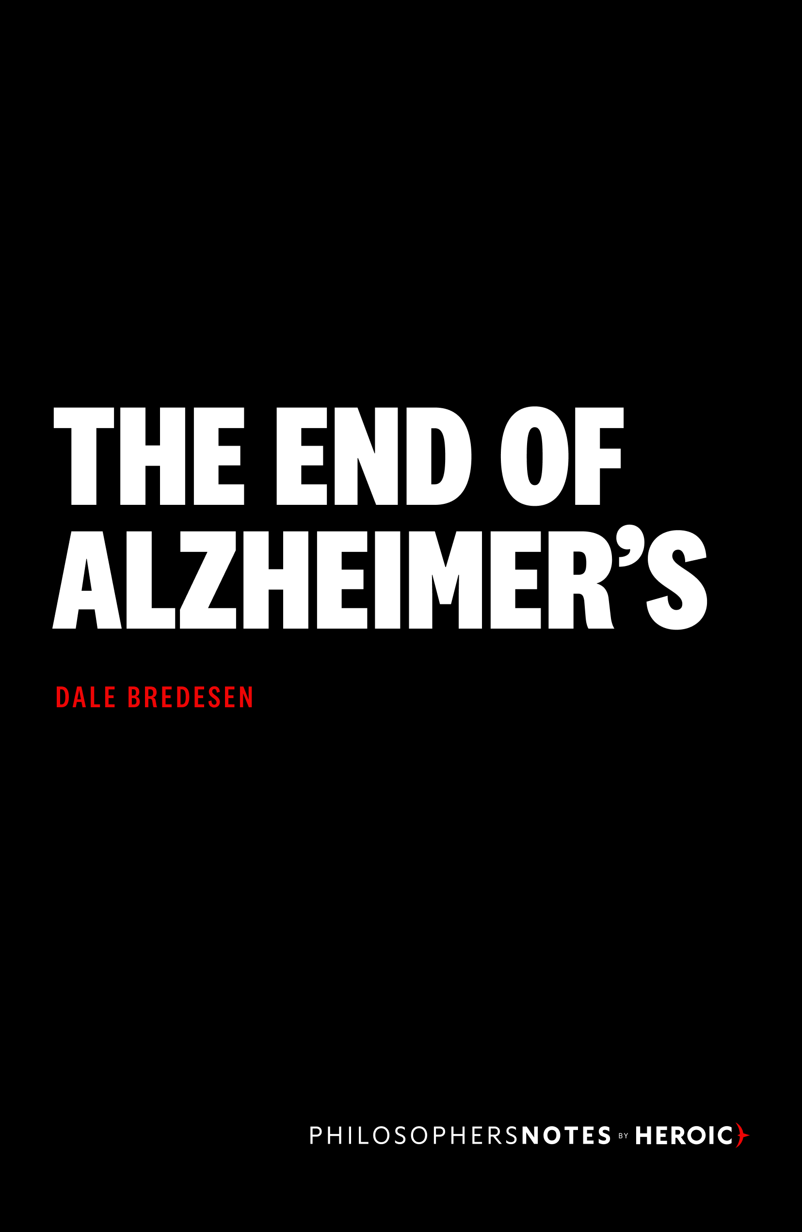The End of Alzheimer's Book Cover