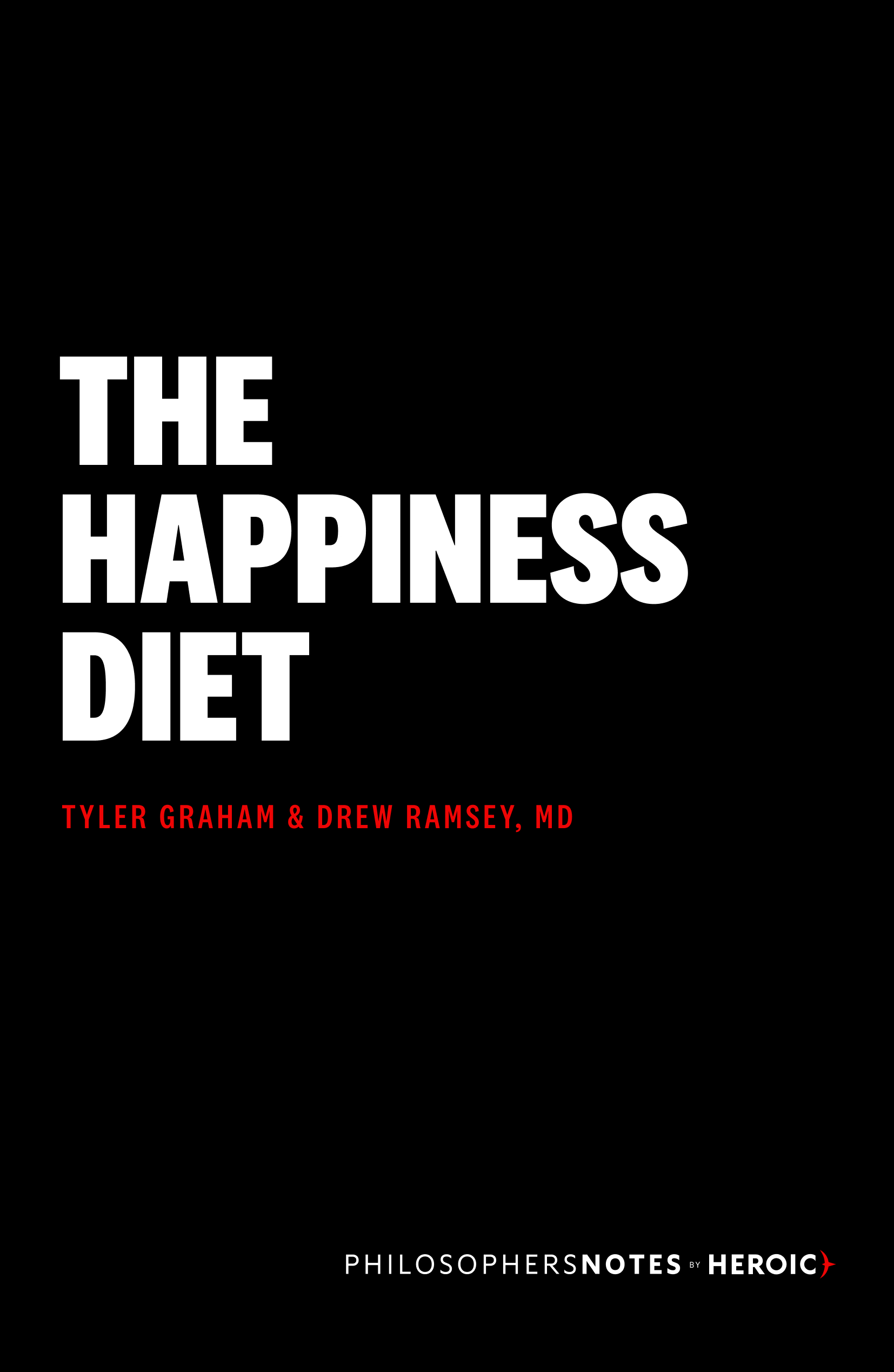 The Happiness Diet Book Cover