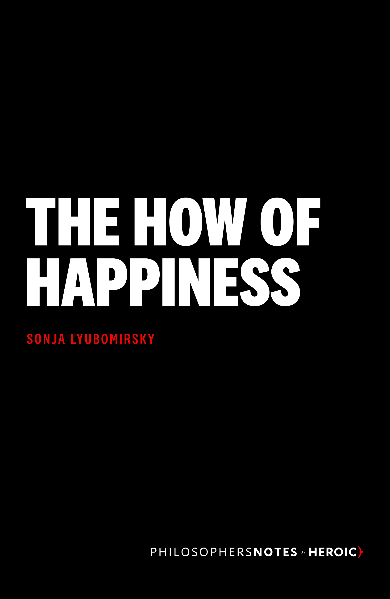 The How of Happiness Book Cover