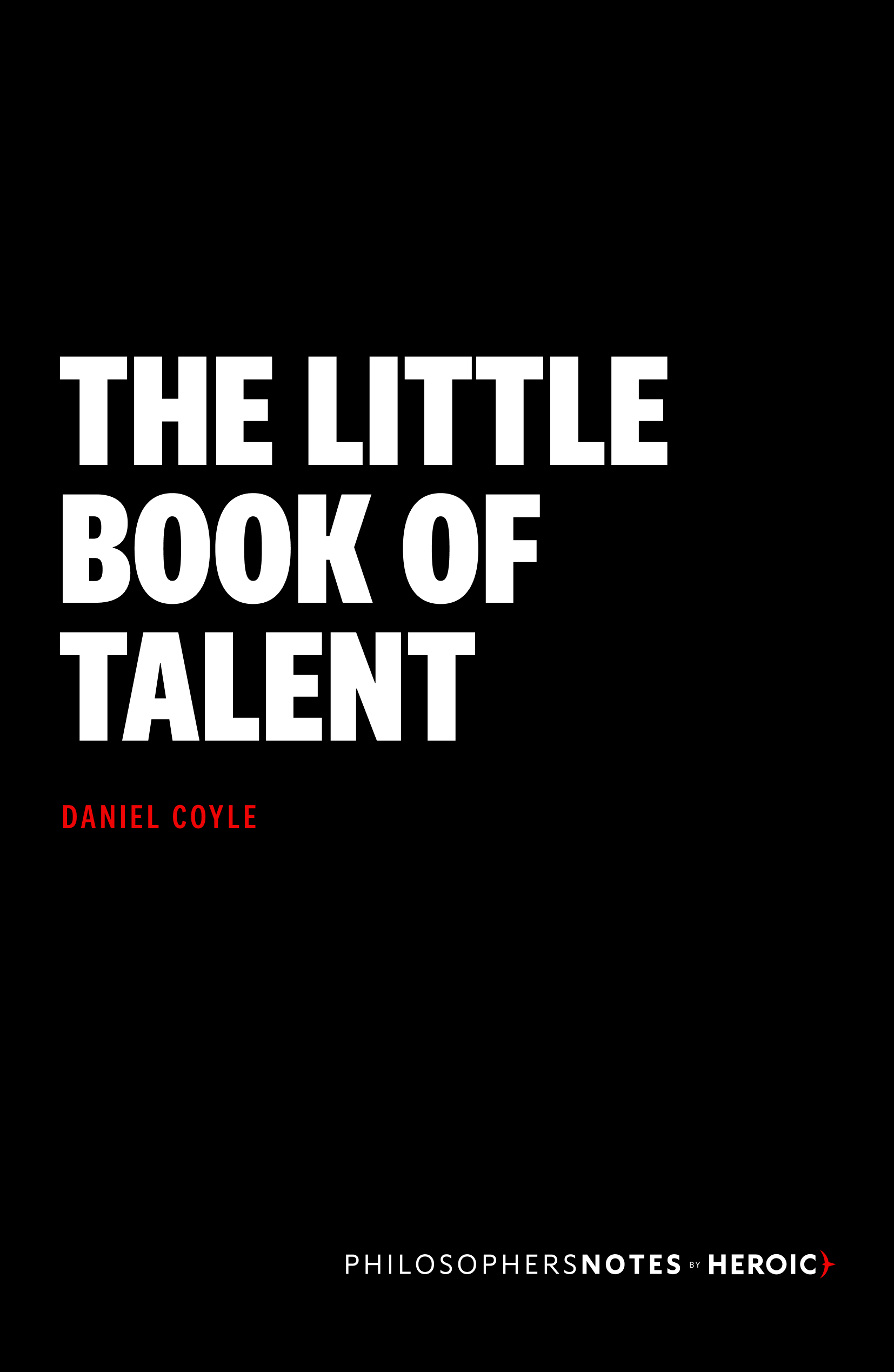 The Little Book of Talent Book Cover