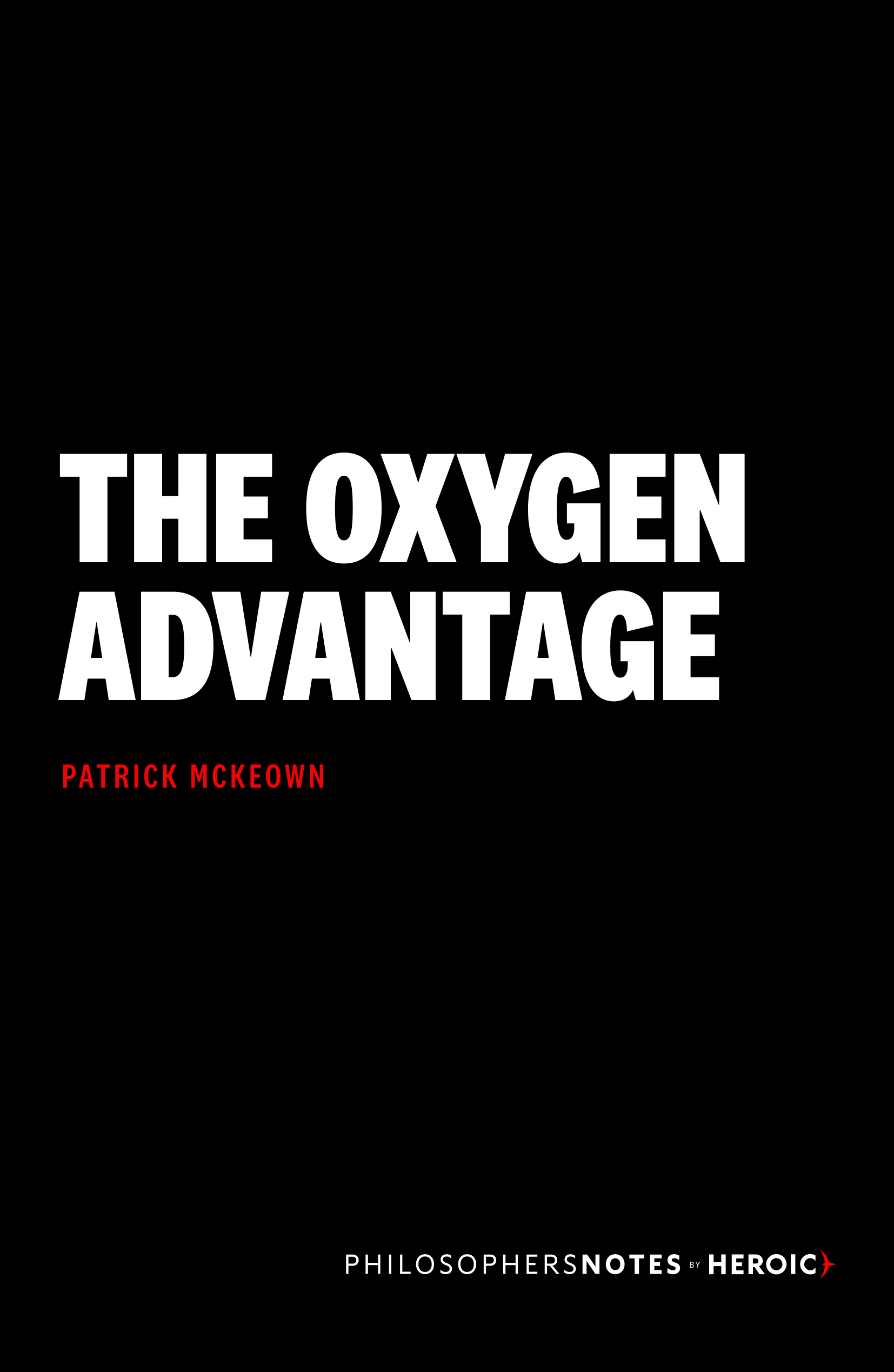 The Oxygen Advantage Book Cover