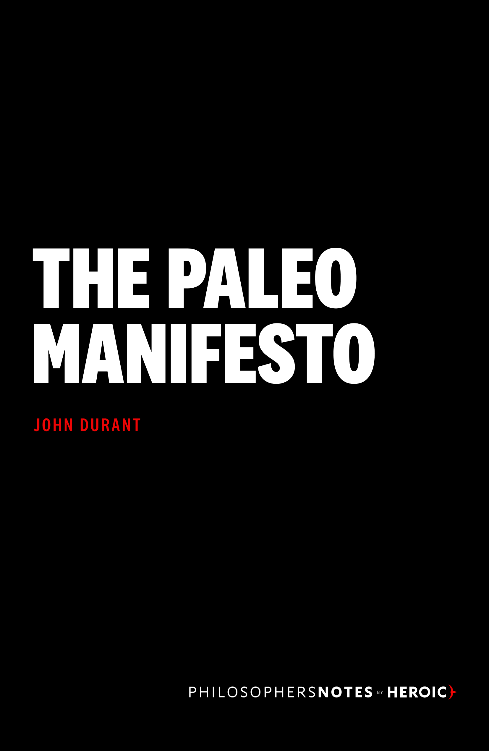 The Paleo Manifesto Book Cover