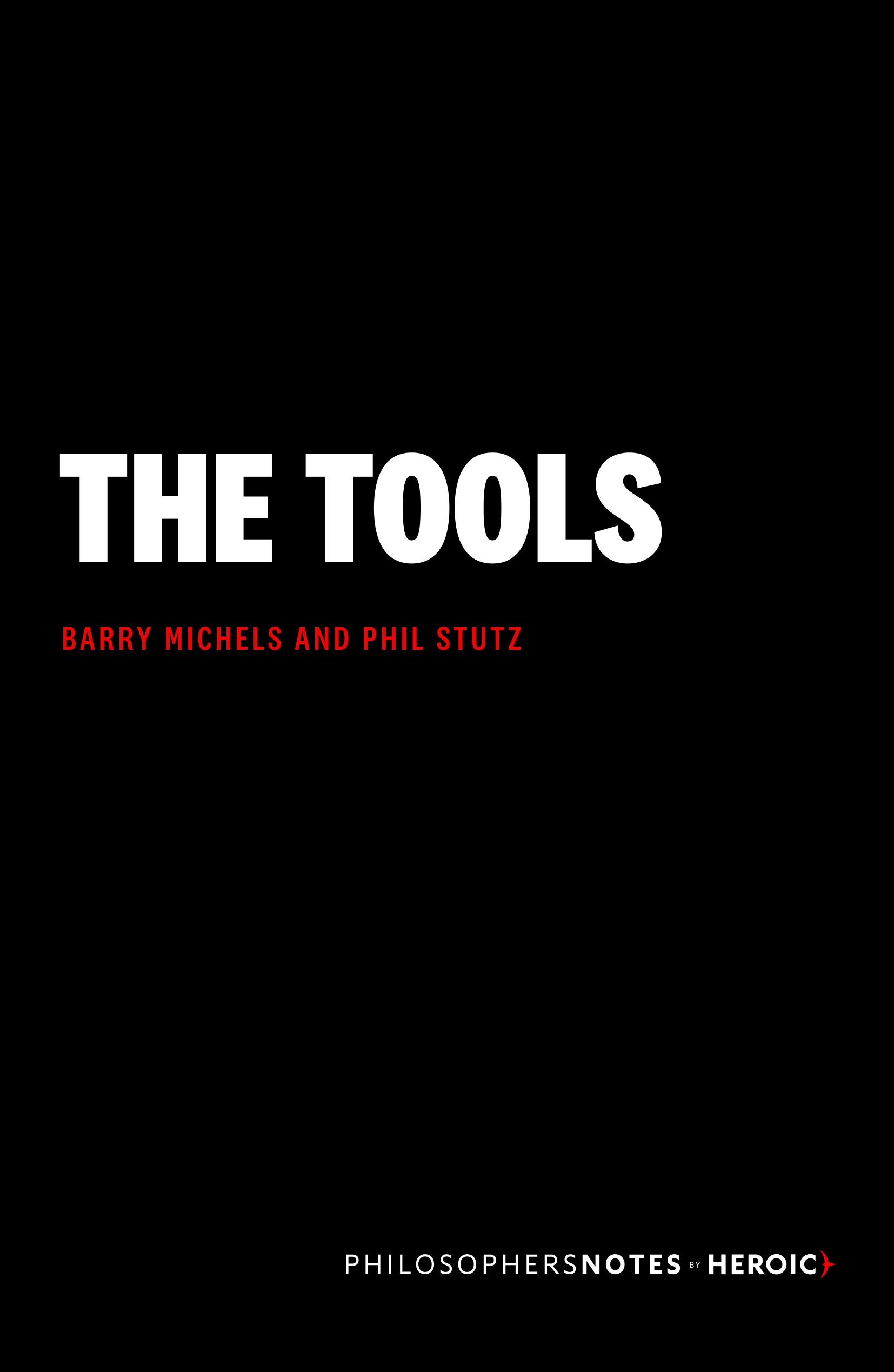 The Tools Book Cover