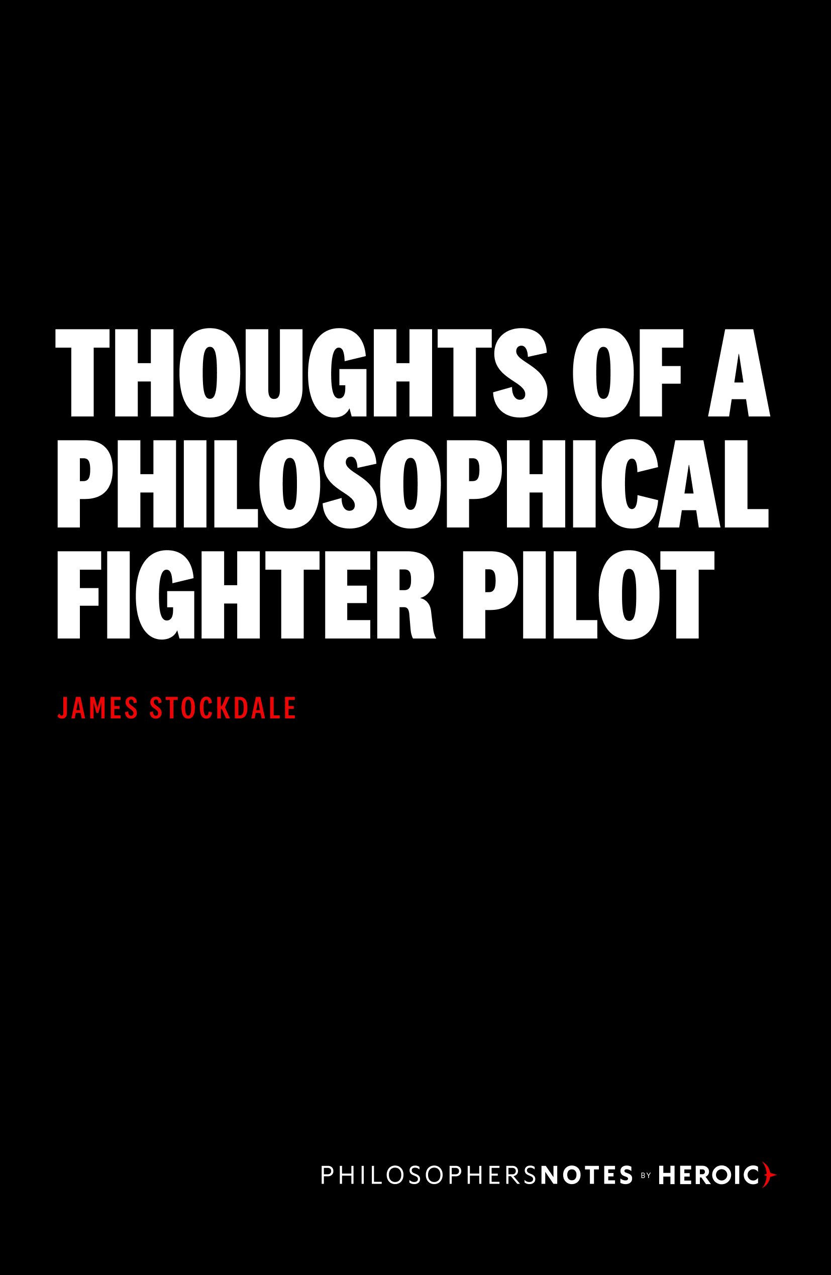 Thoughts of a Philosophical Fighter Pilot Book Cover