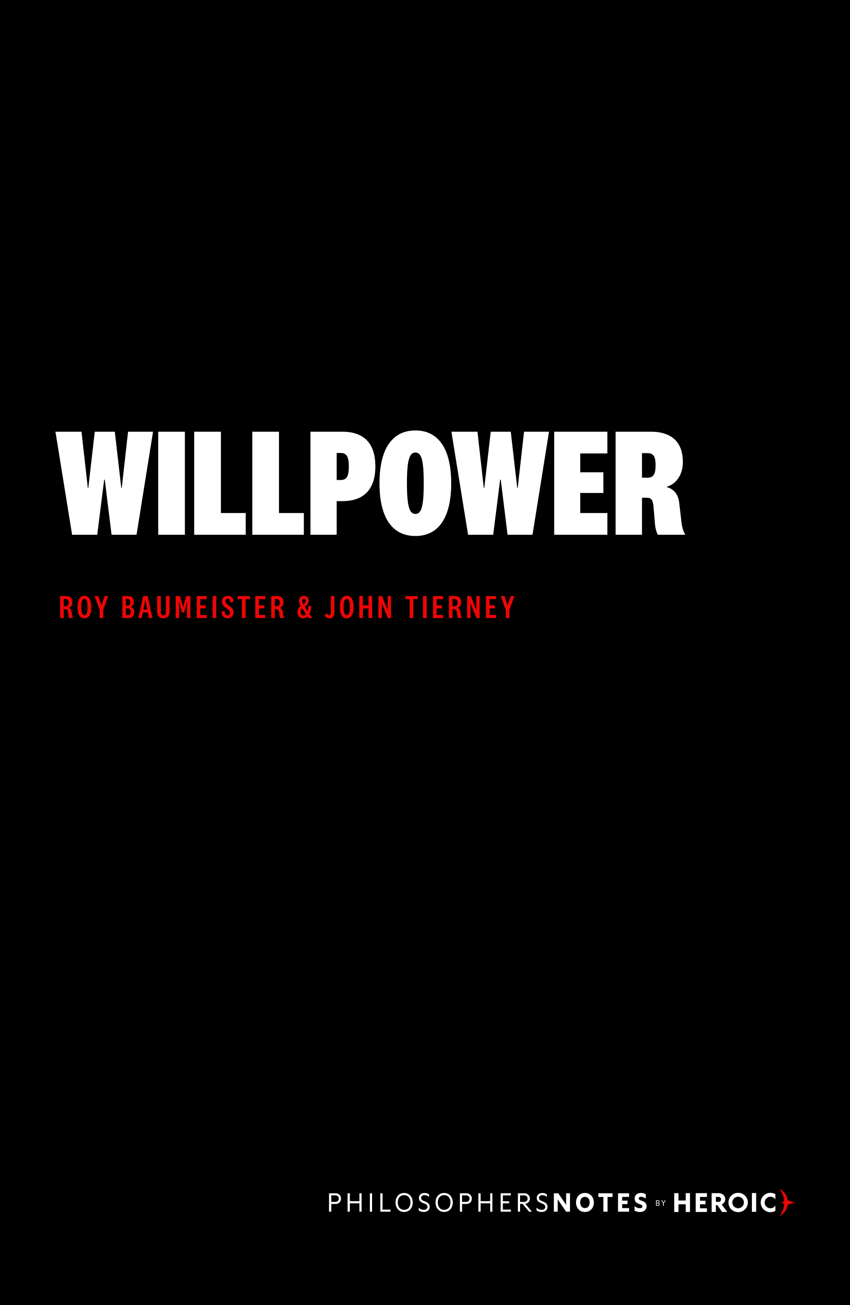 Willpower Book Cover