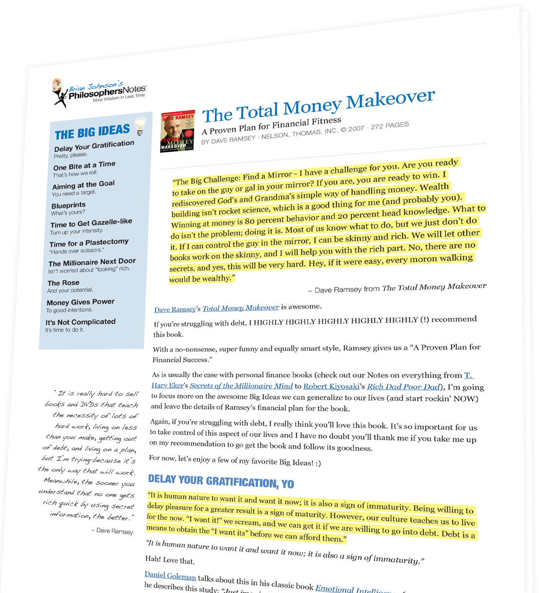 Dave Ramsey Total Money Makeover Pdf