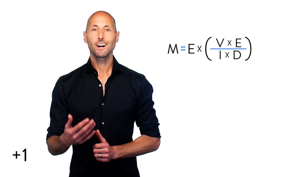 Motivation = ENERGY x (Value x Expectancy / Impulsivity x Delay)