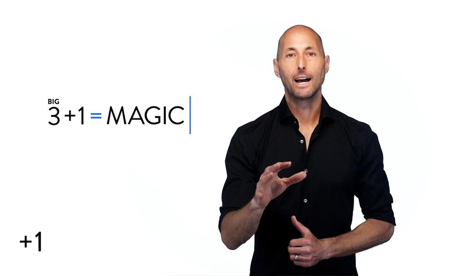3 + 1 = Magic