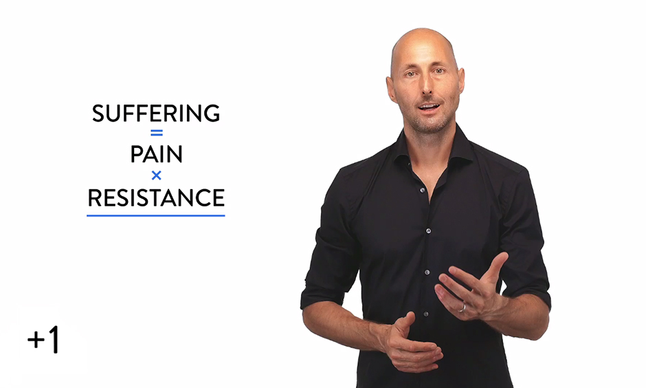 Suffering = Pain x Resistance