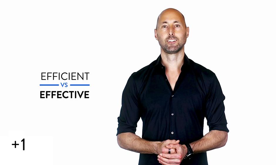 Efficient vs. Effective