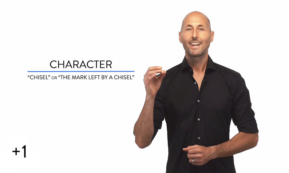 Chiseling Character