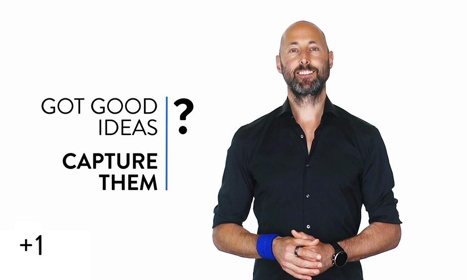 Got Good Ideas?